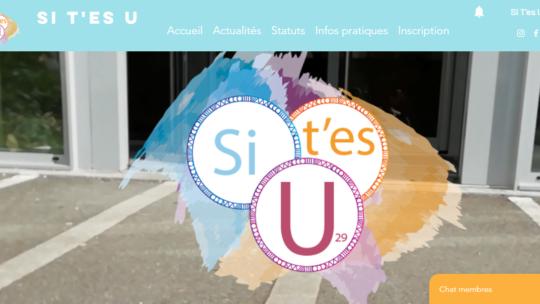 Un site et un logo pour Si T'es U
